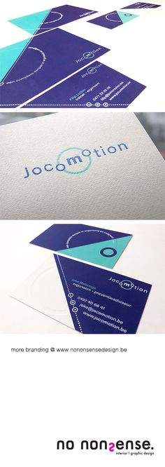 #project #logo #design #huisstijl #visitekaart Jocomotion
