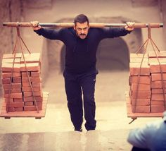Salman Khan in a still from his upcoming movie Sultan!...