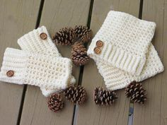 Brooklyn Boot Cuffs, Free Crochet Pattern