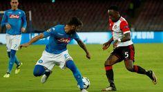 Gehavend Feyenoord krijgt koude douche bij Napoli   Champions League & Europa League   AD.nl