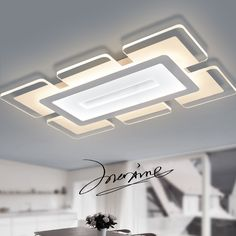 modern led acrylic ceiling lights  for bedroom living room light remote control lighting fixtures lamps ceiling light lamp led