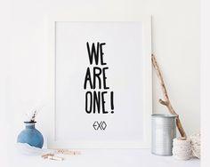 New to StyleScoutDesign on Etsy: Exo kpop poster Exo poster Kai btskpop bigbang seventeen kpop infinite print (5.44 USD)