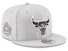 Chicago Bulls New Era The Heather Boy 9FIFTY Snapback Cap 35fa17619b3