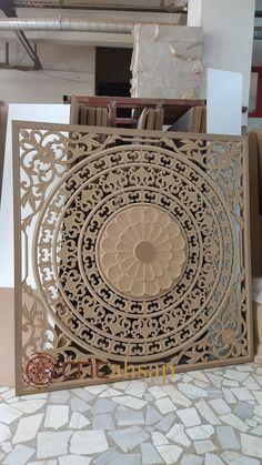 Cnc Kesim İşlemeli Ahşap Dekoratif Tavan Göbeği - Yatak Başlığı ... www.cncahsap.net İstanbul / Ümraniye