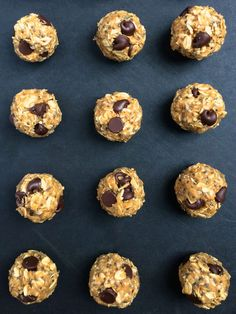 Chocolate Chia Coconut Energy Bites