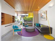 Contemporary Living Room by elaine richardson architect