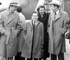 Red Foley, Little Jimmy Dickens, Minnie Pearl and Hank Williams