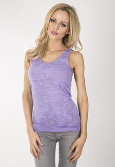 "Ladies burnout tunic tank.  www.jsapparel.net Enter special code "" JSFRIENDS "" and get 20% off on purchase. Limited time only. All JS product made in USA."