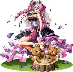 One Piece, Perona I know she's technically a bad guy but between her laugh and everything else about her I just can't help but to love her