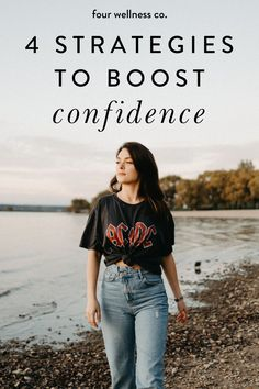 4 Strategies To Boost Confidence | Self Confidence Tips - Have you realized that in order to succeed, confidence matters as much as competence? Click to learn how self-confidence can be learned and practiced—here are four strategies to grow your self-belief. | How To Boost Confidence | Health Coaching | Learn To Have Self Confidence | Healthy Living | Four Wellness Co. #buildconfidence #confident #selfconfidence #selfbelief #selfesteem #selfdevelopment #healthcoach #mentalhealth #wellness Self Confidence Tips, Confidence Coaching, Confidence Boost, Life Coaching, Wellness Fitness, Wellness Tips, Women's Health, Health Coach, Instagram Advertising