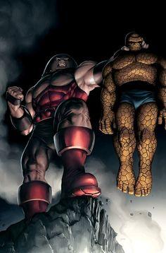 Juggernaut vs The Thing @ Leslie Barrett.....point proven