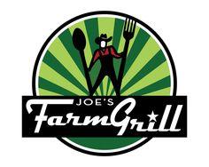 Joe's Farm Grill, Gilbert AZ logo designed by Jeff Moss - Moss Creative, LLC
