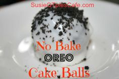 No Bake - Oreo Cake Balls Recipe - Can you eat just one?