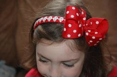 Made to Match Custom Headband with Bow