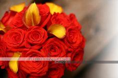 bouquet  wedding Roses Callas  Bodas Rosas Callas