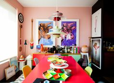 Eclectic Dining Room by Elaine Musiwa