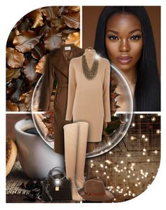 """""""It's coffe time! - Contest!"""" by asia-12 ❤ liked on Polyvore featuring MaxMara, MICHAEL Michael Kors, Steve Madden, rag & bone, Miu Miu and Chico's"""