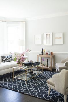 Tech-filled homes certainly aren't going anywhere, but according to Houzz, more and more families are opting to keep their family rooms unplugged in order to facilitate more family time. This stunning digital-free living room is proof that a house can look smart without being full of gadgets. Click for more 2016 home decor trends.