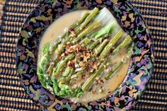Chinese Cabbage and Beans in Spicy Coconut Milk