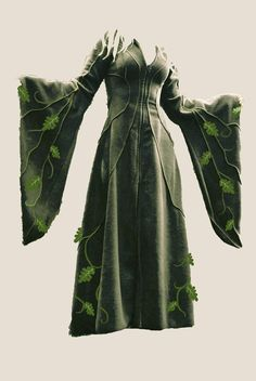 Custom Made Floor Length Haunted Hawtin Coat for by technodolly