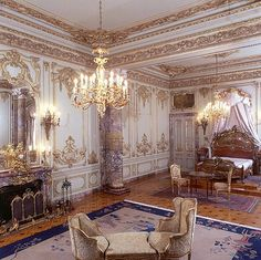 Mohammed Ali palace in Cairo Old Egypt, Cairo Egypt, Egypt Civilization, Places In Egypt, Royal Bedroom, Palace Interior, Clinic Design, Baroque Architecture, Elegant Homes