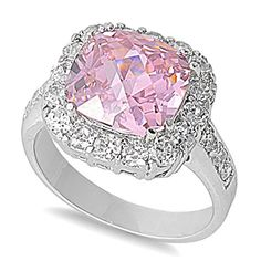 Sterling Silver Square Stone Ring with Pink and Clear CZ - size 5 Zinga http://smile.amazon.com/dp/B009YMVUZY/ref=cm_sw_r_pi_dp_B-K4ub0DGNGZV