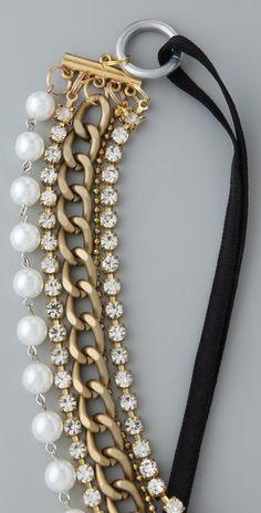 Dauphines of New York - Red Carpet Headband - make as bracelet?