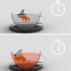 Shark tea infuser!