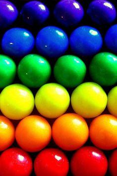 Rainbow easter eggs