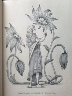 """Dread Rodrigues on Twitter: """"#31witches challenge number 4: Garden Witch, inspired by Misty Day from American Horror Story 