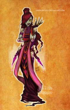 Disney Princesses transformed into World of Warcraft characters - Meg