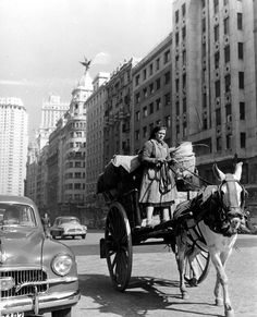 Gran Vía. Madrid, Spain.1941. crazyMADRID.com @TheCrazyCities