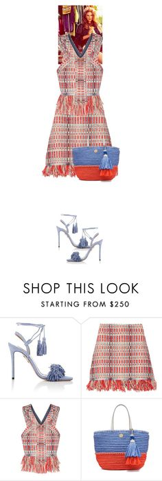 """""""Maeve Artemis #6192"""" by canlui ❤ liked on Polyvore featuring Aquazzura and Tory Burch"""