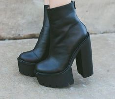 Eugenie from Feral Creature in the Mulder Platform Boot ...