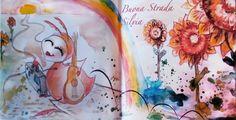 """Sfogliando la fiaba illustrata """"La Pulce Melodiosa"""" Il Sorriso di Silvia.  #saramorghese #favole #illustration #colors #kids #ilsorrisodisilvia #art #drowing"""