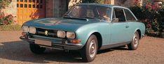 Werbefoto aus den siebziger Jahren: Mit dem Peugeot 504 Coupé fuhr die Marke in der automobilen Oberklasse.