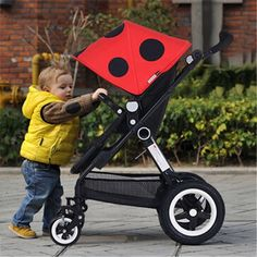 473.40$  Watch here - http://aliua2.worldwells.pw/go.php?t=32580333388 - Newborn Sleeping High Landscape Basket for Newborn Baby Stroller Prams Kid Carriage Pushchair Special 6 Colors Portable Stroller