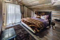 Home in Cortina d'Ampezzo by ZWD-Projects Cabin Interiors, Rustic Interiors, Modern Interiors, Inspiration Design, Interior Inspiration, Bedroom Inspiration, Grey Pictures, Interior Decorating, Interior Design