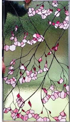 Paintings and Glassworks by Tina Marohn: Newly created stained glass window. Paintings and Glassworks by Tina Marohn: Newly created … Stained Glass Paint, Stained Glass Flowers, Stained Glass Designs, Stained Glass Panels, Stained Glass Projects, Stained Glass Patterns, Leaded Glass, Mosaic Art, Mosaic Glass