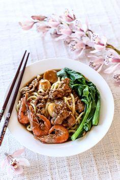 Fu Zhou Lin Mian - Fuzhou Braised Noodles