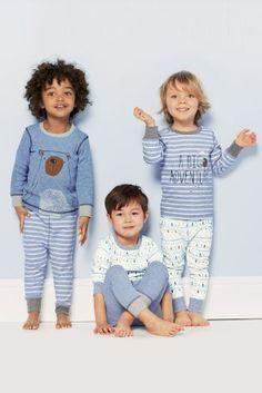 Kopen Set van drie knuffelpyjama's van Big Adventure (9 mnd-8 jr) nu online op Next: Nederland