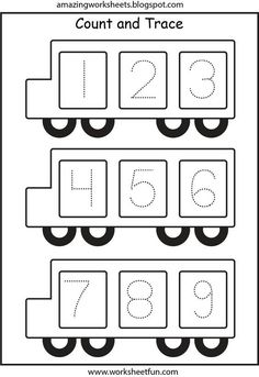School bus number trace page