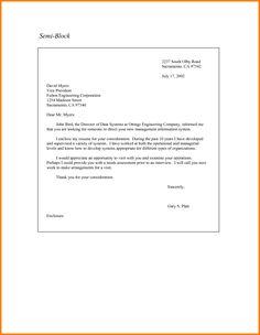 Brilliant Ideas of Full Block Application Letter For Teachers In Sample      Pinterest