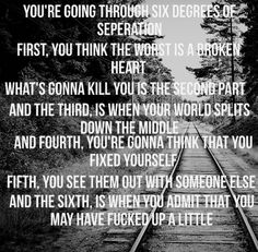 Six Degrees of Seperation - The Script