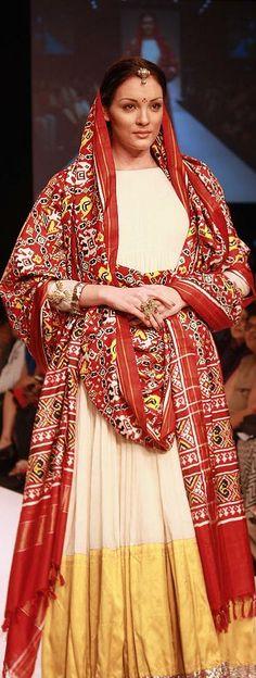 Gaurang Shah Creations at Lakme Fashion week. original pin by @webjournal