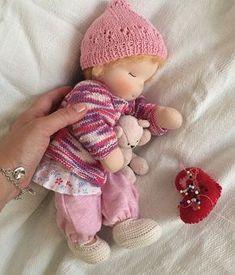 #dollmaker #textiledoll #waldorfdoll #waldorfpuppe #вальдорфскаякукла #taisoid #sleepybaby #waldorfkids