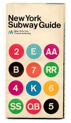 Vintage NYC Subway map- it would be cool to frame one in my apt
