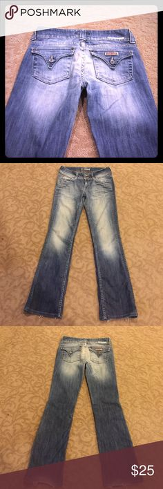 Hudson Jeans Size 28! Boot cut! Hudson Jeans Size 28! Boot cut! Distressed look! Flap pockets! Hudson Jeans Jeans Boot Cut