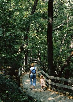 Fontenelle Forest offers a lot to explore for a family. Photo courtesy Nebraska Tourism