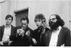 Long-lost photos capture a young Bob Dylan rubbing elbows in North Beach with Beat poets